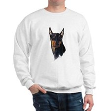 German Pinscher portrait Sweatshirt