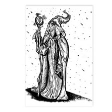 Wizard on the hilltop Postcards (Package of 8)
