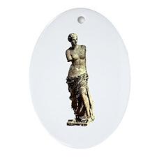 Venus de Milo Oval Ornament
