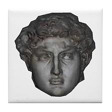 David's head by Michelangelo Tile Coaster
