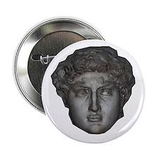 """David's head by Michelangelo 2.25"""" Button"""