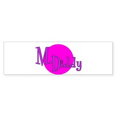 M. Diddy Prison Nickname Bumper Bumper Sticker