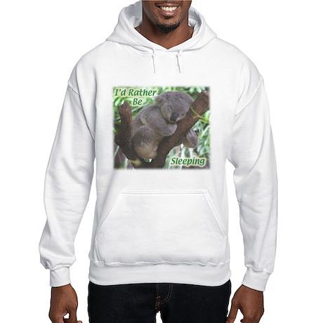 Sleeping Koala Hooded Sweatshirt