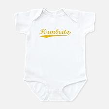 Vintage Humberto (Orange) Infant Bodysuit