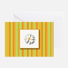 Daisy (orange) Greeting Cards (Pk of 10)