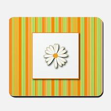 Daisy (orange) Mousepad