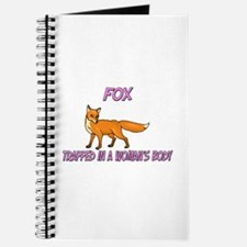 Fox Trapped In A Woman's Body Journal