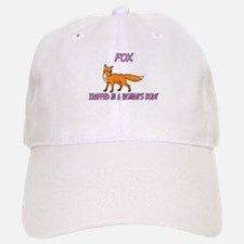 Fox Trapped In A Woman's Body Baseball Baseball Cap