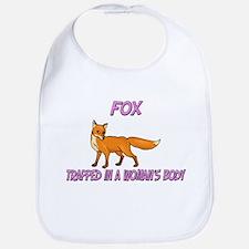 Fox Trapped In A Woman's Body Bib