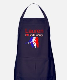 HOCKEY GIRL Apron (dark)
