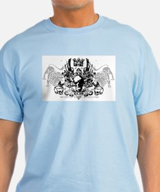 Winged Skull and Crown T-Shirt