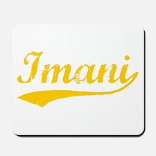 Vintage Imani (Orange) Mousepad