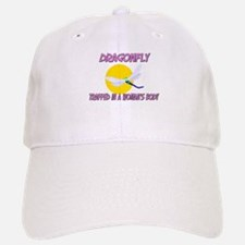 Dragonfly Trapped In A Woman's Body Baseball Baseball Cap