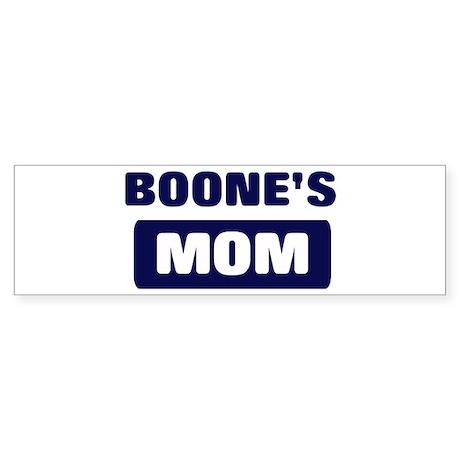 BOONE Mom Bumper Sticker