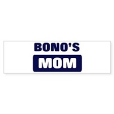 BONO Mom Bumper Bumper Sticker