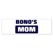 BONO Mom Bumper Bumper Stickers
