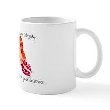 Pondering Redhead Pinup Girl Mug