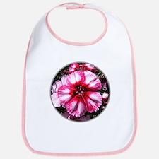 China Pink Flower Bib