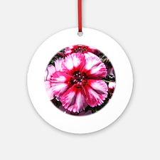 China Pink Flower Keepsake (Round)