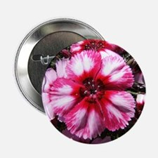 China Pink Flower Button