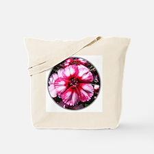 China Pink Flower Tote Bag