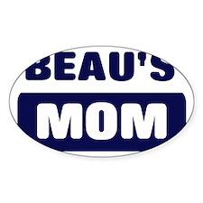BEAU Mom Oval Decal
