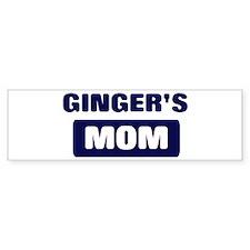 GINGER Mom Bumper Bumper Sticker
