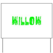 Willow Faded (Green) Yard Sign
