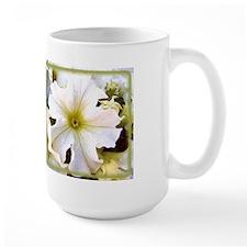 White Petunia Mug