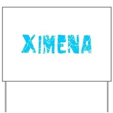 Ximena Faded (Blue) Yard Sign