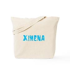 Ximena Faded (Blue) Tote Bag
