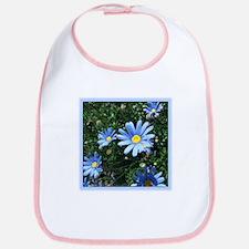 Blue Daisy Bib