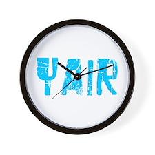 Yair Faded (Blue) Wall Clock