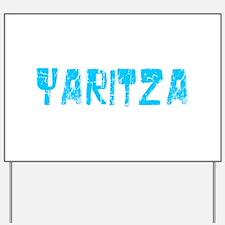 Yaritza Faded (Blue) Yard Sign