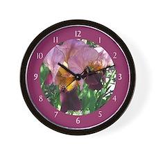 Dutch Iris Wall Clock