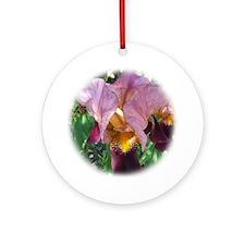 Dutch Iris Ornament (Round)