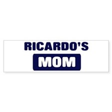 RICARDO Mom Bumper Bumper Sticker