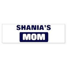 SHANIA Mom Bumper Bumper Sticker