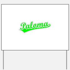 Retro Paloma (Green) Yard Sign
