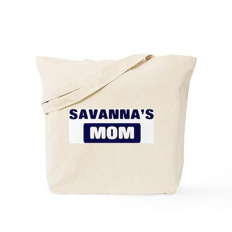 SAVANNA Mom Tote Bag