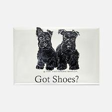 Scottie Puppies - Got Shoes Rectangle Magnet