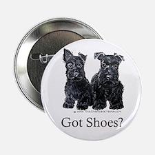 """Scottie Puppies - Got Shoes 2.25"""" Button"""