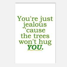 Funny Tree Hugger Joke Postcards (Package of 8)