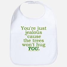 Funny Tree Hugger Joke Bib