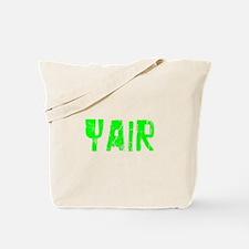 Yair Faded (Green) Tote Bag