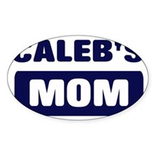 CALEB Mom Oval Decal