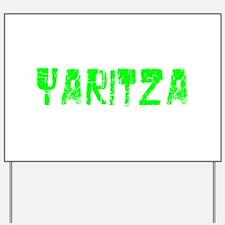 Yaritza Faded (Green) Yard Sign