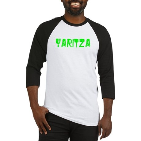 Yaritza Faded (Green) Baseball Jersey