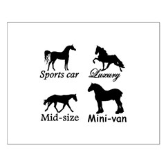 Horse Cars Posters