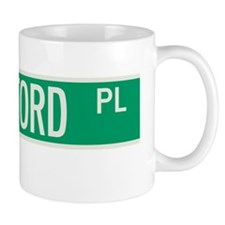 Rutherford Place in NY Mug